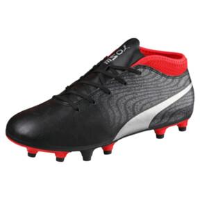 Thumbnail 1 of ONE 18.4 FG Soccer Cleats JR, Black-Silver-Red, medium