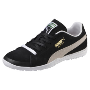 Thumbnail 1 of Chaussure de foot FUTURE Suede TT pour homme, Black-White, medium