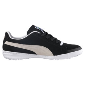 Thumbnail 3 of Chaussure de foot FUTURE Suede TT pour homme, Black-White, medium