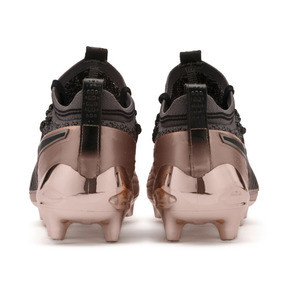 Thumbnail 4 of PUMA ONE 1 GLO FG/AG Men's Soccer Cleats, Rose Gold-Puma Black, medium