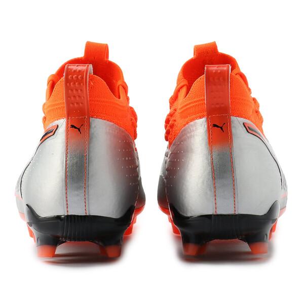 プーマ ワン 1 レザー HG, Silver-Orange-Black, large-JPN