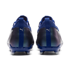 Thumbnail 4 of PUMA ONE 3 FG Men's Soccer Cleats, Sodalite Blue-Silver-Peacoat, medium