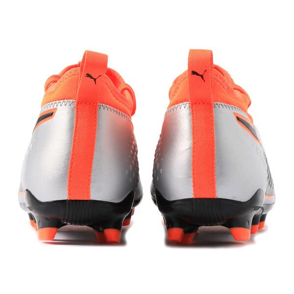 プーマ ワン 3 レザー HG, Silver-Orange-Black, large-JPN