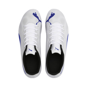 Thumbnail 7 of Rapido FG Men's Soccer Cleats, White-Royal Blue-Light Gray, medium