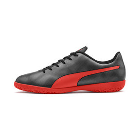 Thumbnail 1 of Rapido IT Men's Soccer Shoes, Black-Nrgy Red-Aged Silver, medium