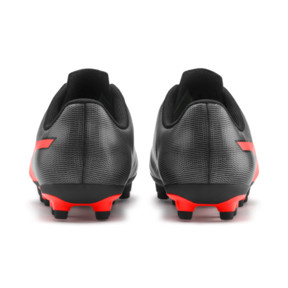 Thumbnail 3 of Rapido FG Boy's Soccer Cleats JR, Black-Nrgy Red-Aged Silver, medium