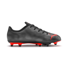 Thumbnail 5 of Rapido FG Boy's Soccer Cleats JR, Black-Nrgy Red-Aged Silver, medium