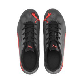 Thumbnail 6 of Rapido FG Boy's Soccer Cleats JR, Black-Nrgy Red-Aged Silver, medium