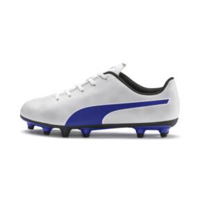 Thumbnail 1 of Rapido FG Boy's Soccer Cleats JR, White-Royal Blue-Light Gray, medium