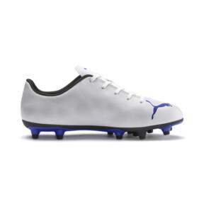 Thumbnail 5 of Rapido FG Boy's Soccer Cleats JR, White-Royal Blue-Light Gray, medium