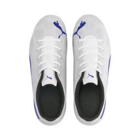 Thumbnail 6 of Rapido FG Boy's Soccer Cleats JR, White-Royal Blue-Light Gray, medium