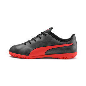 Thumbnail 1 of Rapido IT Boy's Soccer Shoes JR, Black-Nrgy Red-Aged Silver, medium