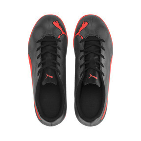 Thumbnail 6 of Rapido IT Boy's Soccer Shoes JR, Black-Nrgy Red-Aged Silver, medium