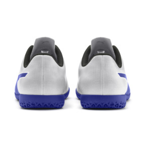 Thumbnail 3 of Rapido IT Boy's Soccer Shoes JR, White-Royal Blue-Light Gray, medium