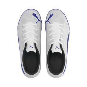 Thumbnail 6 of Rapido IT Boy's Soccer Shoes JR, White-Royal Blue-Light Gray, medium