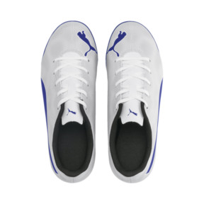 Thumbnail 6 of Rapido TT Boy's Soccer Cleats JR, White-Royal Blue-Light Gray, medium