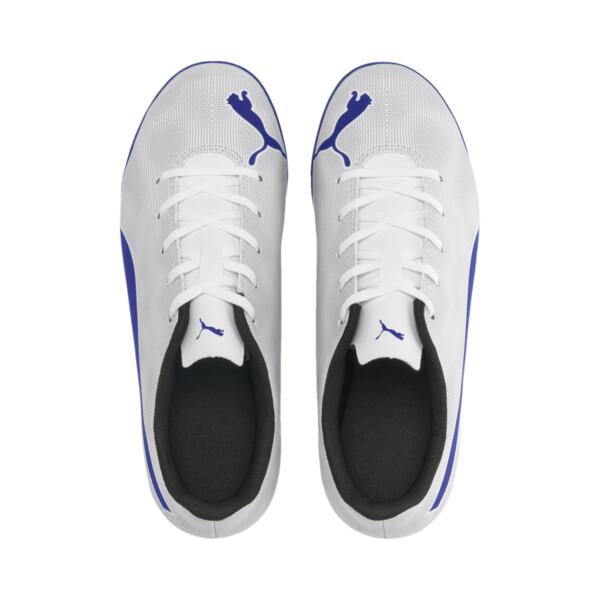 Rapido TT Boy's Soccer Cleats JR, White-Royal Blue-Light Gray, large