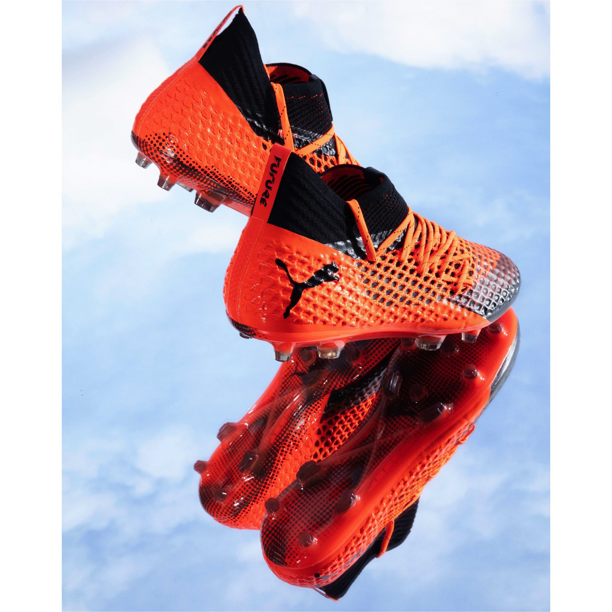 Image Puma FUTURE 2.1 NETFIT FG/AG Men's Football Boots #6