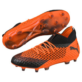 Thumbnail 2 of フューチャー 2.1 NETFIT FG/AG, Black-Orange, medium-JPN