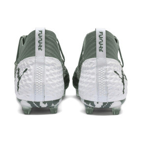 Thumbnail 4 of Chaussure de foot FUTURE 2.1 NETFIT FG/AG pour homme, Laurel Wreath-White-Black, medium