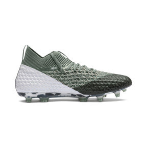 Thumbnail 5 of FUTURE 2.1 NETFIT FG/AG Men's Football Boots, Laurel Wreath-White-Black, medium