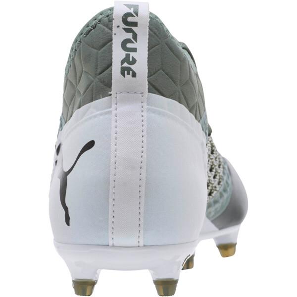 FUTURE 2.3 NETFIT FG/AG Men's Soccer Cleats, Laurel Wreath-White-Black, large