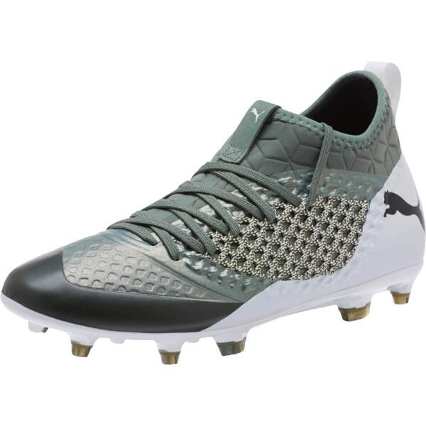 438b5653b FUTURE 2.3 NETFIT FG/AG Men's Soccer Cleats, Laurel Wreath-White-Black
