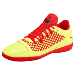 Thumbnail 1 of 365 NETFIT CT Men's Court Training Shoes, Yellow-Red-Black, medium