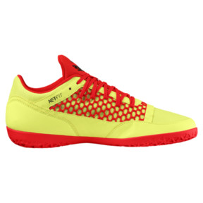 Thumbnail 3 of 365 NETFIT CT Men's Court Training Shoes, Yellow-Red-Black, medium
