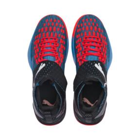 Thumbnail 6 of Rise XT FUSE 1 Indoor Training Schuhe, Bleu Azur-Red Blast-Black, medium