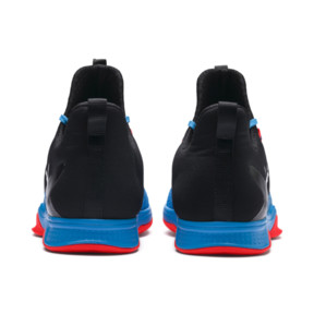 Thumbnail 3 of Rise XT 3 Indoor Teamsport Shoes, Bleu Azur-Red Blast-Black, medium
