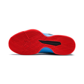 Thumbnail 4 of Rise XT 3 Indoor Teamsport Shoes, Bleu Azur-Red Blast-Black, medium