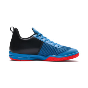 Thumbnail 5 of Rise XT 4 Indoor Training Shoes, Bleu Azur-Red Blast-Black, medium