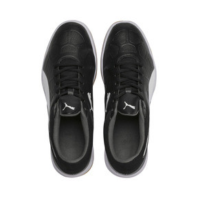 Thumbnail 6 of Tenaz Indoor Teamsport Shoes, Black-White-Iron Gate-Gum, medium