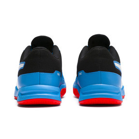 Thumbnail 3 of Tenaz Indoor Teamsport Shoes, Bleu Azur-White-Black-Red, medium