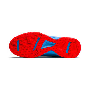 Thumbnail 4 of Tenaz Indoor Teamsport Shoes, Bleu Azur-White-Black-Red, medium