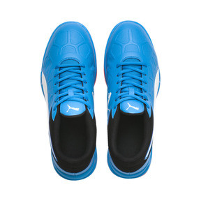 Thumbnail 6 of Tenaz Indoor Teamsport Shoes, Bleu Azur-White-Black-Red, medium