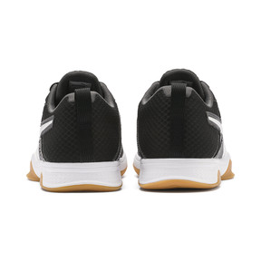 Thumbnail 3 of PUMA Stoker.18 Indoor Training Shoes, Black-White-Iron Gate-Gum, medium