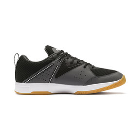 Thumbnail 5 of PUMA Stoker.18 Indoor Training Shoes, Black-White-Iron Gate-Gum, medium