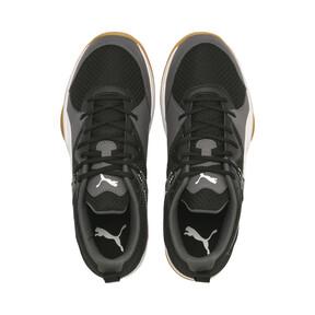 Thumbnail 6 of PUMA Stoker.18 Indoor Training Shoes, Black-White-Iron Gate-Gum, medium