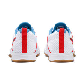 Thumbnail 3 of PUMA Stoker.18 Indoor Training Shoes, White-Black-Red-Bleu-Gum, medium