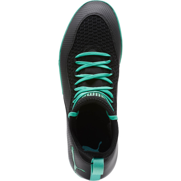 365 FF 3 ST Sneakers, Black-Green, large