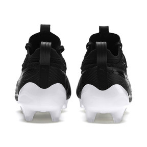 Thumbnail 3 of PUMA ONE 19.1 evoKNIT FG/AG Men's Football Boots, Puma Black-Puma Black-White, medium