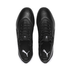 Thumbnail 6 of PUMA ONE 19.1 evoKNIT FG/AG Men's Football Boots, Puma Black-Puma Black-White, medium