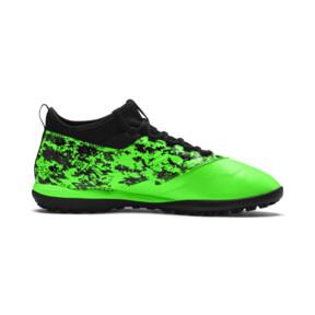 Thumbnail 5 of PUMA ONE 19.3 TT Men's Soccer Shoes, Green Gecko-Black-Gray, medium