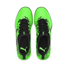 Thumbnail 6 of PUMA ONE 19.3 TT Men's Soccer Shoes, Green Gecko-Black-Gray, medium
