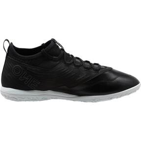 Thumbnail 4 of PUMA ONE 19.3 IT Men's Soccer Shoes, Puma Black-Puma Black-White, medium
