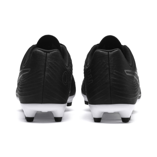 PUMA ONE 19.4 FG/AG Men's Football Boots, Puma Black-Puma Black-White, large