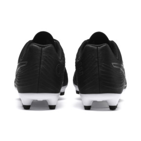 Thumbnail 3 of PUMA ONE 19.4 FG/AG Men's Soccer Cleats, Puma Black-Puma Black-White, medium