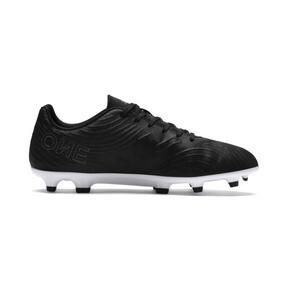 Thumbnail 5 of PUMA ONE 19.4 FG/AG Men's Football Boots, Puma Black-Puma Black-White, medium